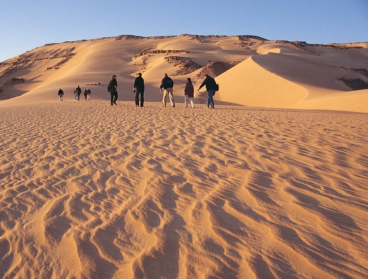 Ankhtours, sand dunes in the desert