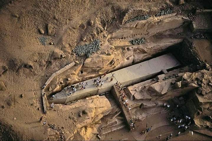 Ankhtours, the unfinished obelisk in aswan