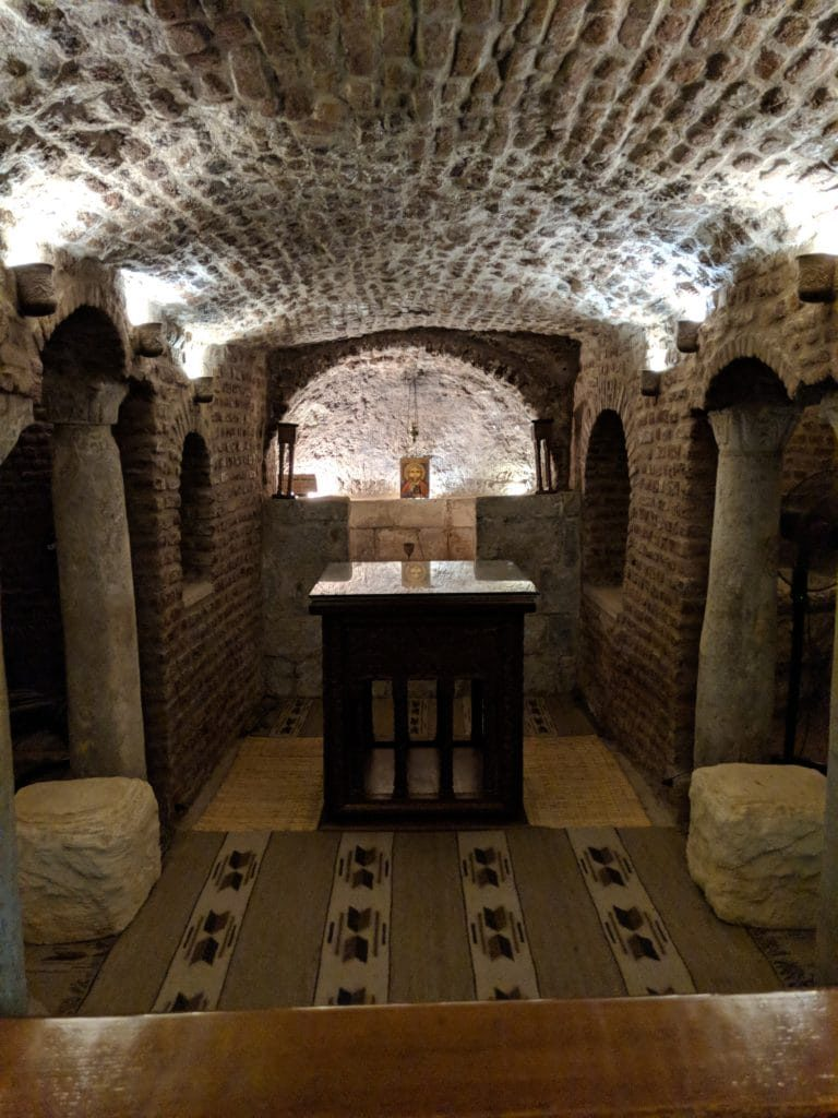Ankhtours, The holy crypt church in old Cairo