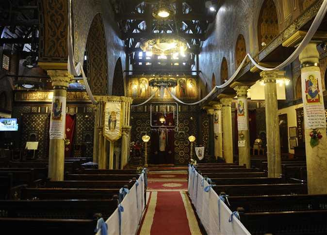 Ankhtours, The holy land Egypt tour, The hanging church in Coptic Cairo