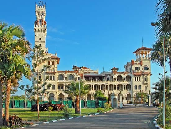 Ankhtours, Montazah palace in Alexandria