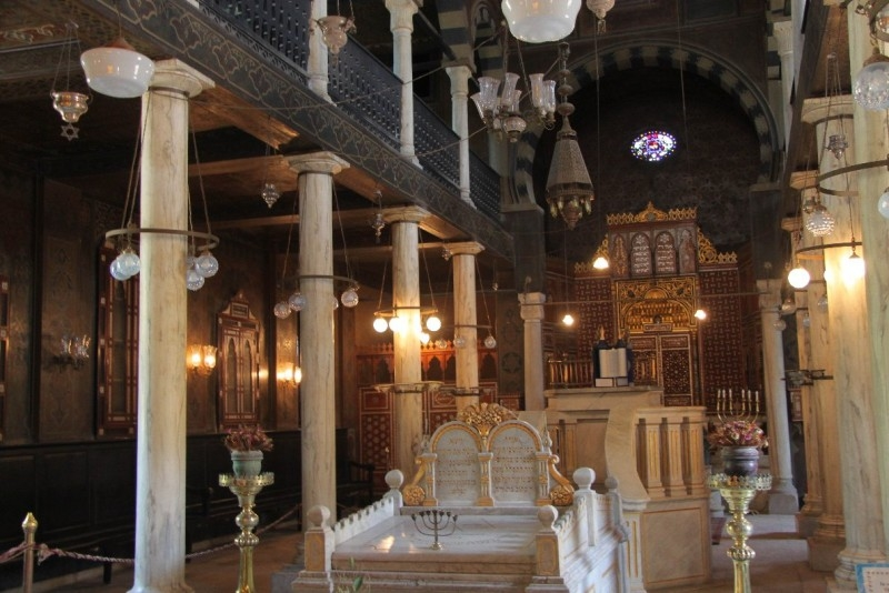 Ankhtours, Ben Ezra synagogue in the coptic area